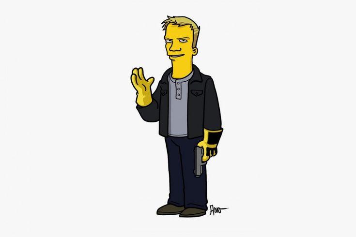 'Breaking Bad' Characters as 'The Simpsons' by Adrien Noterdaem