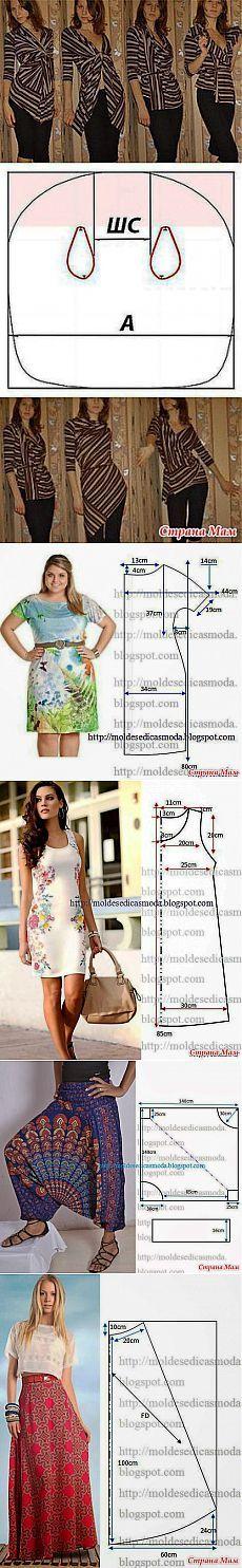Proste cięcie-proste modele - Szybki szycia i haftowania dla niedoskonałego - Home Moms