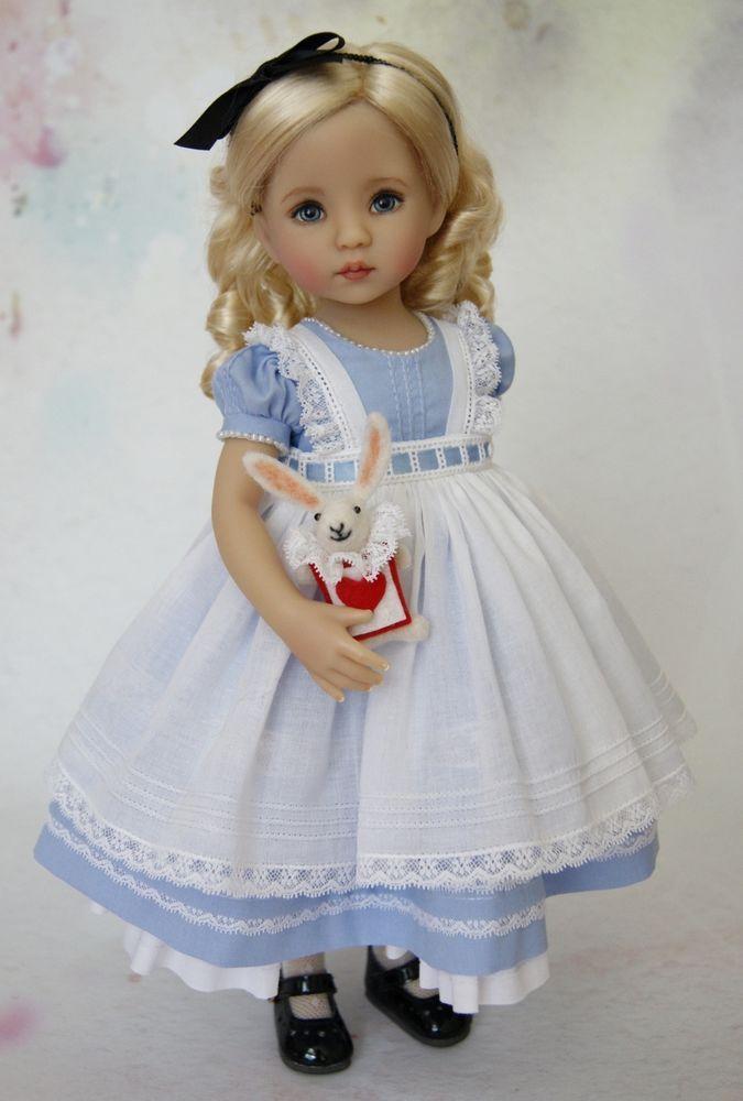"""Dianna Effner 13"""" Querida, Alice No País Das Maravilhas   Bonecas e ursinhos, Bonecas, Por material   eBay!"""