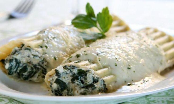 Manicotti aux trois fromages...