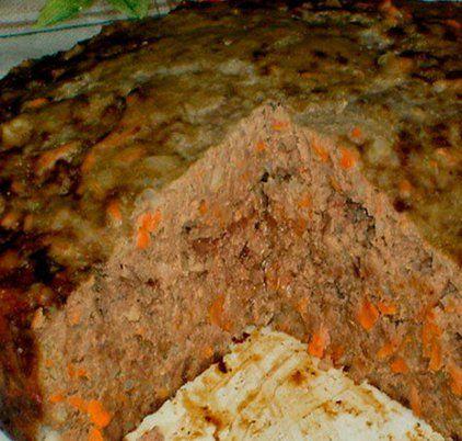 Пирог печеночный