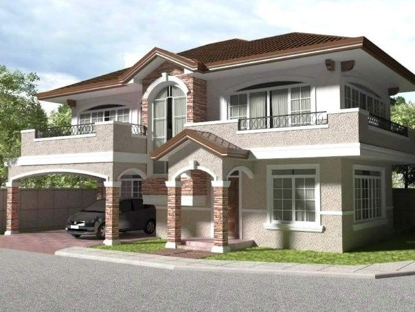 Icymi 2 Bedroom House For Rent With Garage Near Me Two Story House Design 2 Storey House Design House Plans