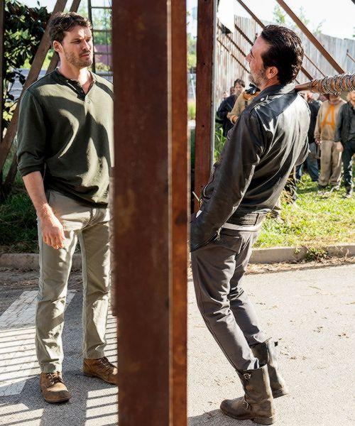 Negan and Spencer Monroe in The Walking Dead Season 7 Episode 4 | Service