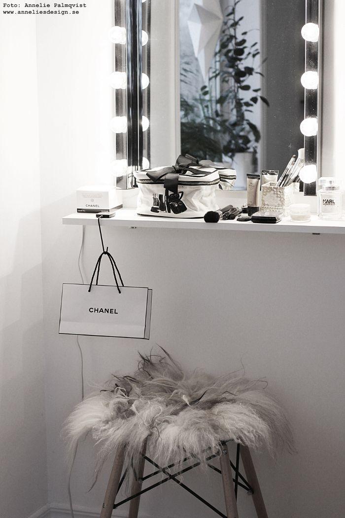 bag all, sminkväska, beauty bag, på resan, presenttips, resa, förvaring, bag, walk in closet, sminkhörna, smink, make up, inredning, webbutik, webshop, nätbutik, inredningsbutik, varberg, spegel, ljusramp, chanel,