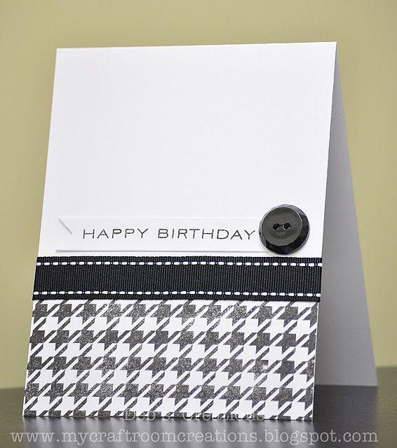 simple masculine birthday