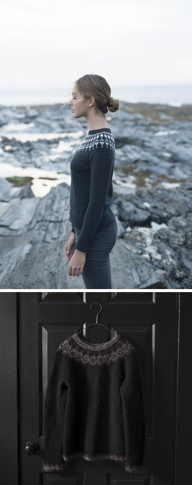 One of the most endlessly irresistible things to me is a colorwork yoke sweater done all in neutrals with the body in charcoal or black. It's so striking and rich and magical somehow. I could…
