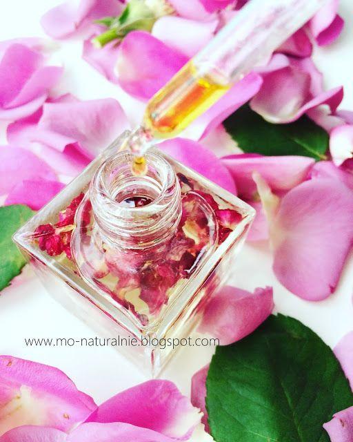 mo-naturalnie: Różany olejek do masażu
