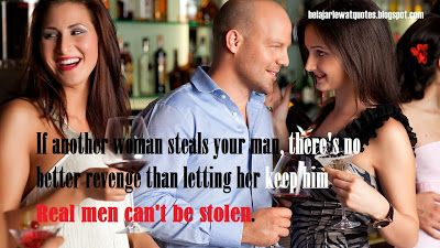 belajar kehidupan lewat quotes: Pria Sejati Gak Bisa Dicuri