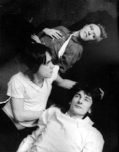 David Bowie,Iggy Pop et Ron Wood