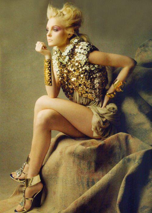 La Fée Dorée #Fashion #Photography #MakeUpArt