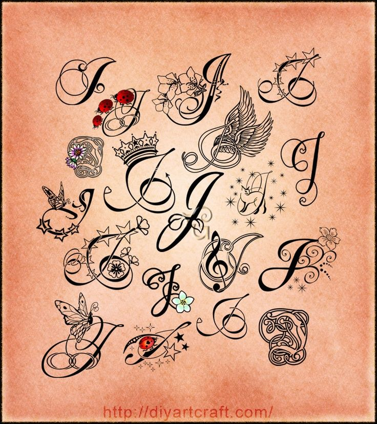 1000+ Ideas About Letter Tattoos On Pinterest
