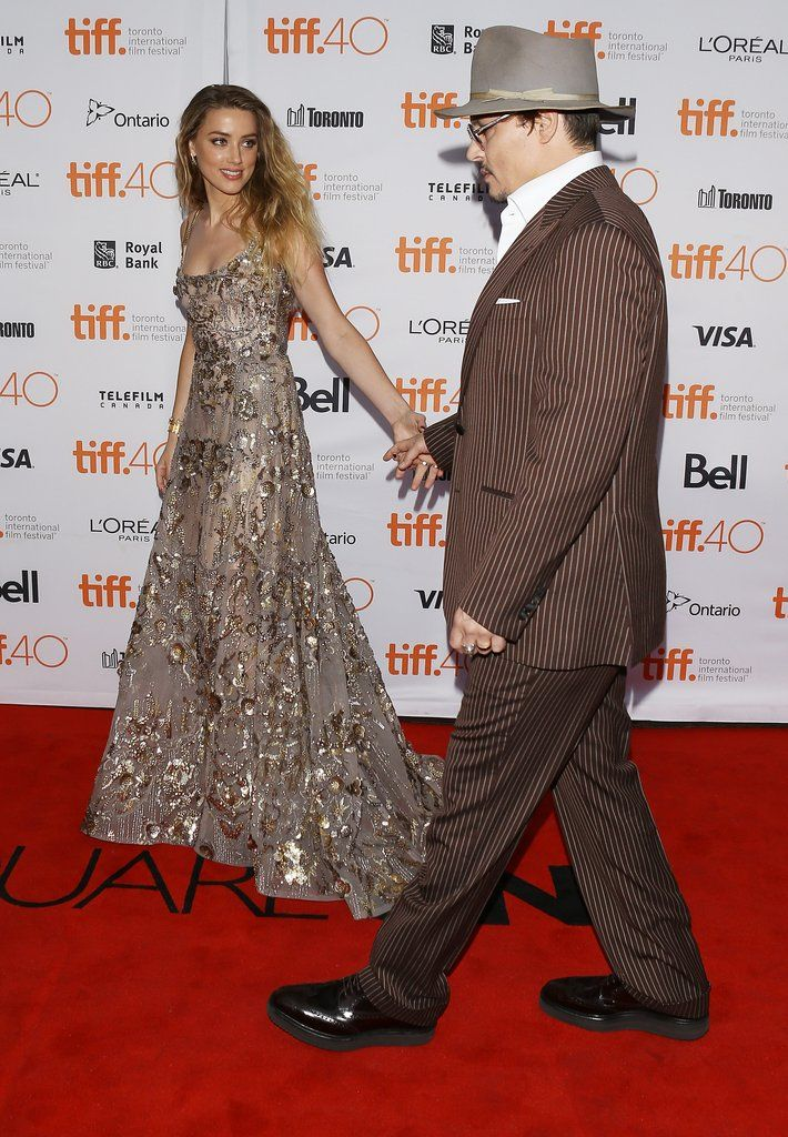 Let's take a look at Johnny Depp and Amber Heard's relationship evolution.