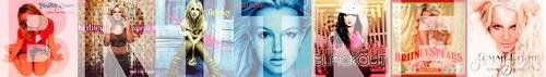 Britney Spears 7 albums so far.