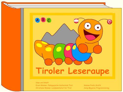 Die Leseraupe - Online lesen üben