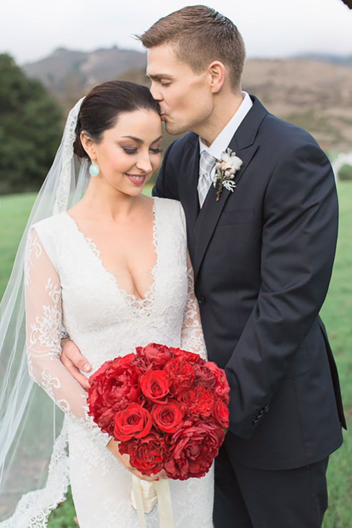 We Re Kicking Off The Holiday Season With A Gorgeous Carmel Valley Winter Wedding Kylee And Kieran Were Married At Holman Ranch In Day Filled Sophi
