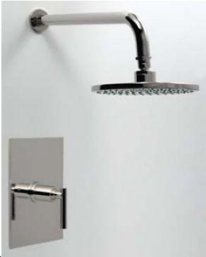 Santec 2632EZ Dome Pressure Balance Shower Set