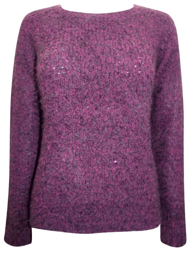 EX GEORGE LADIES SOFT PURPLE JUMPER  SIZE 12-20 SPECIAL PURCHASE £8.99 FREE P&P #George #Jumpers