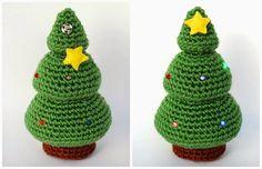 La Navidad está a la vuelta de la esquina, así que os traigo un patrón para iluminar las frías noches invernales: ¡un árbol con luces de ...