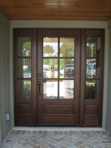 25 best ideas about wood entry doors on pinterest glass