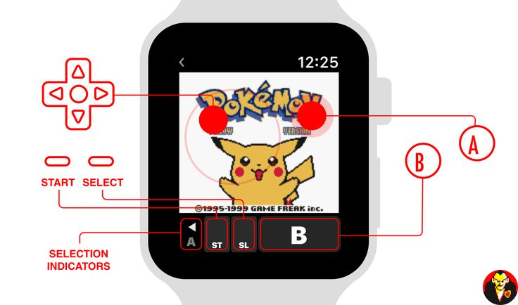 Transformez votre Apple Watch en émulateur pour Game Boy Color