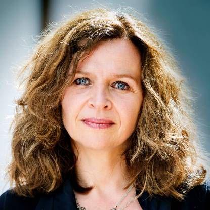 Portretfoto van minister Edith Schippers Volksgezondheid,Welzijn en Sport