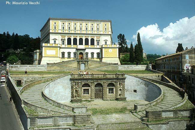 Palazzo Farnese by Jacopo Vignola