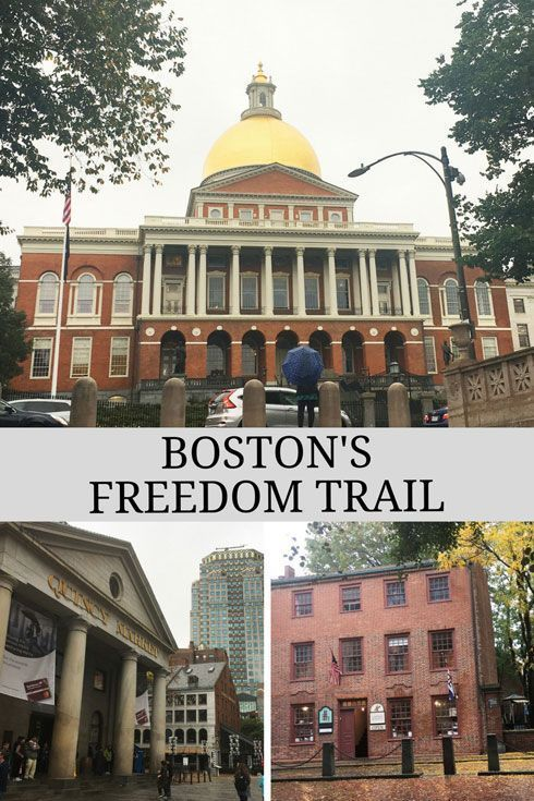 Boston's Freedom Trail, Massachusetts, USA Boston's Freedom Trail, Massachusetts, USA Take a self-guided #tour of #Boston and the #FreedomTrail. Covering #BostonCommon, the Paul Revere house, and more #TravelDestinationsUsaNortheast
