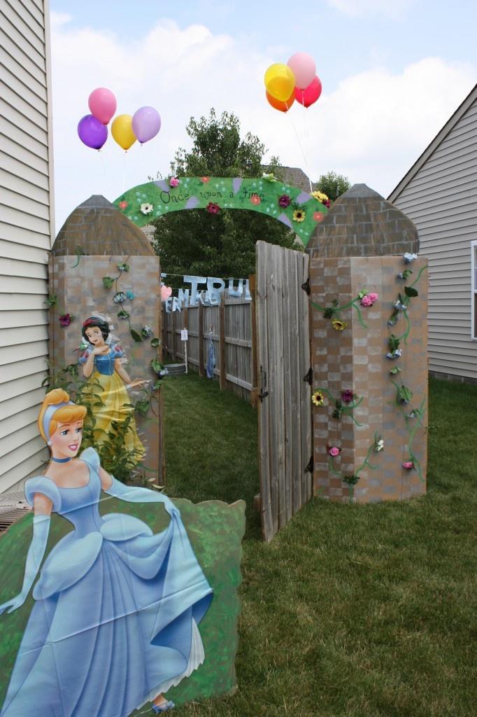 Enchanted Princess Kid's Birthday Party