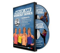 #AdvoCare Workout Series - Can You 24? #AdvoCarePin2013
