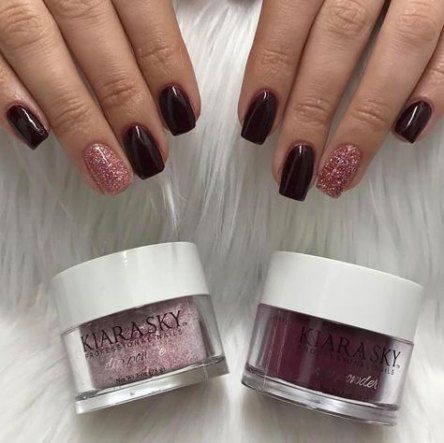 16 trendy nails design winter dip powder | Nail dipping ...