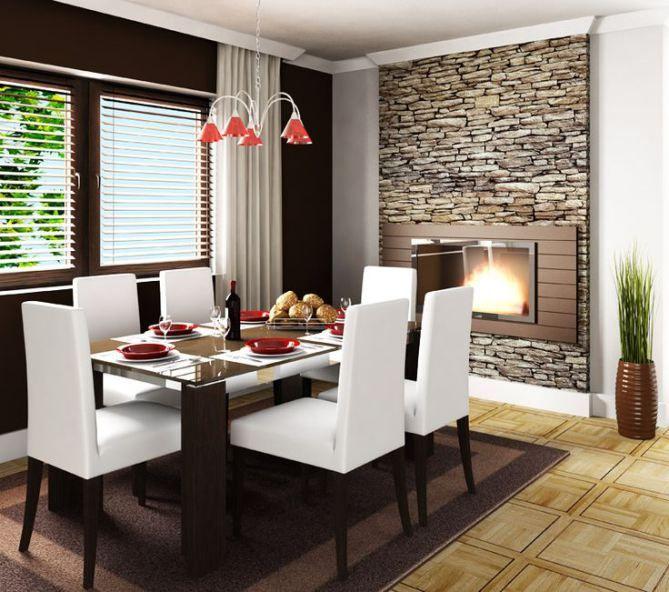 Decoraci n de comedores peque os truquiconsejos para for Muebles modernos para comedores pequenos