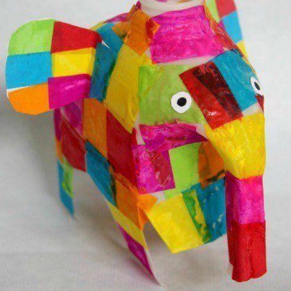 milk jug elephant