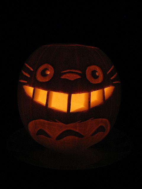 Totoro pumpkin.