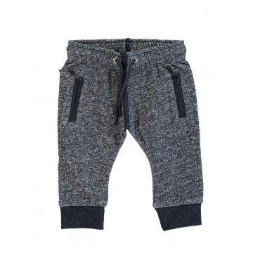 Blauwe mêlee joggingsbroek - Kidscase - FW15 - #monkeyandbutterfly #kidsfashion #kidscase #FW15 #webshop