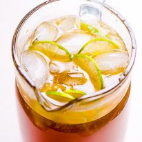 Lime Iced Tea - iFOODreal