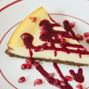 Gebakken cheesecake met speculaasbodem - Dille & Kamille