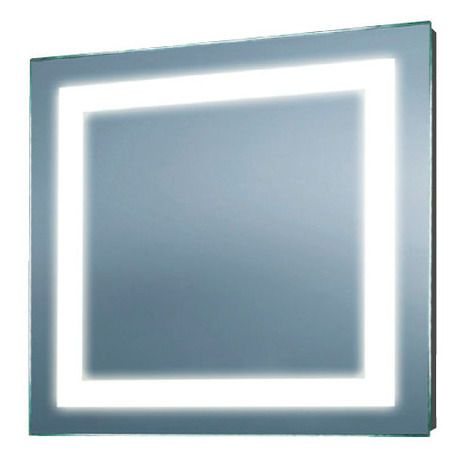 Square Illuminated Mirror With 60 Width Possibly Too Wide