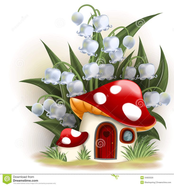 Mushroom Fantasy House - Download From Over 41 Million High Quality Stock Photos, Images, Vectors. Sign up for FREE today. Image: 34903329