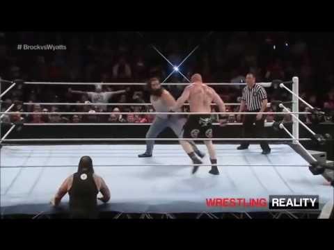 WWE Brock Lesnar VS Wyatt Family