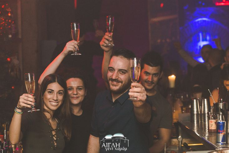 It's more than just a toast to friendship – it's a toast to the good times had by all, at Aigli!
