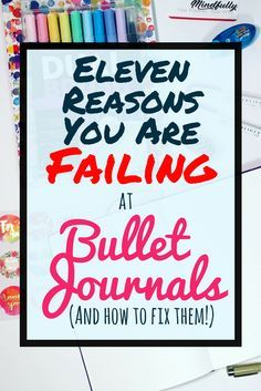 There are many reasons that people struggle with bullet journals. Whether you have complicated layouts, trouble finding inspiration, or lack motivation, this post explores the most common pitfalls people have with their bujos. If you want to know how to start a bullet journal right, keep this article in mind to help prevent these common concerns. #bulletjournal #bulletjournalideas #bujo #bujocommunity #planner
