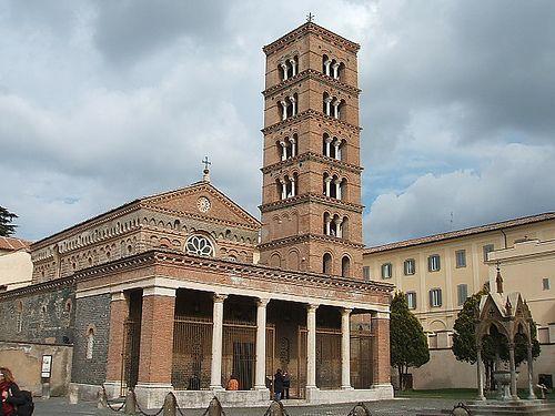 Lazio - Grottaferrata (Roma) - Abbazia di San Nilo - by lepacifique'