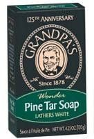 GRANDPA'S BRANDS Pine Tar Soap Bath Size 4.25 OZ by Grandpa's. $3.32. Grandpa's Brands Soap Pine Tar 4.25 Oz Body Soaps at HerbsCity store.