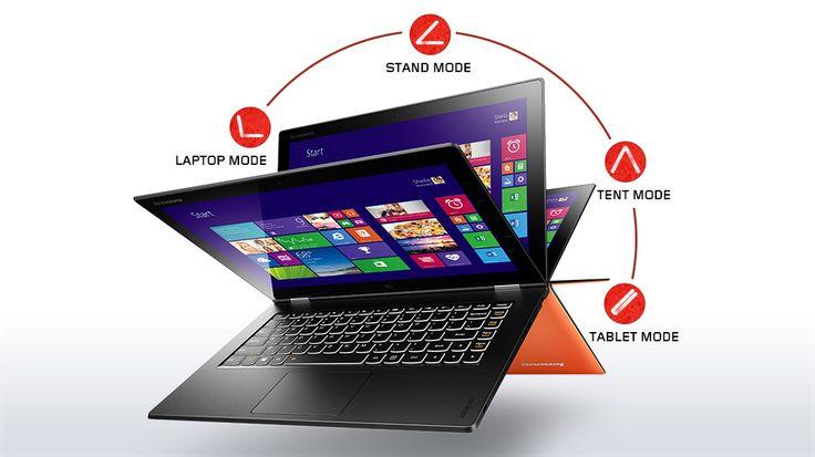 #Lenovo #Yoga2 Il notebook dal design ripiegabile e orientabile a 360 gradi.  Scoprilo su Diwo.it!