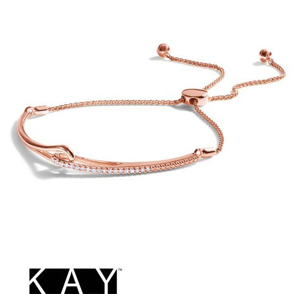 A Gorgeous Diamond Rose Gold Bolo Bracelet From The Love Be Loved Collections Is The Perfect Symbol To Celebrate The Bond You Share With Jewelry Jewels Gold