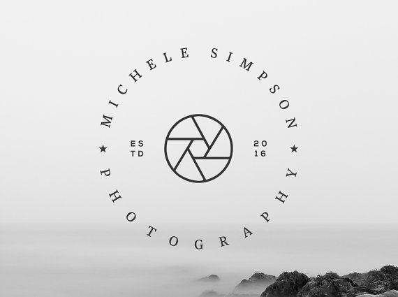 Premade Logo  Logo de la photographie. Création de par GraphicFlava