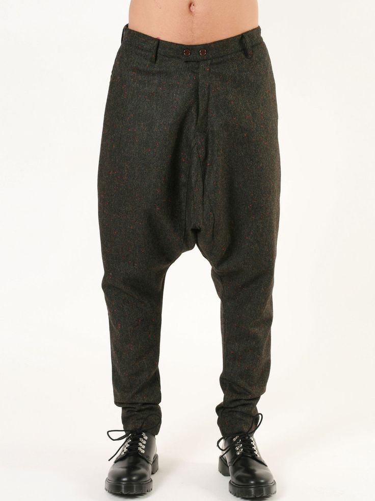 Camo Madrid tweed trousers from FW14/15 collection - made in Italy - available at guyafirenze.com