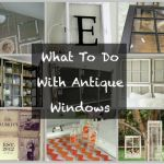 Antique Window Decor
