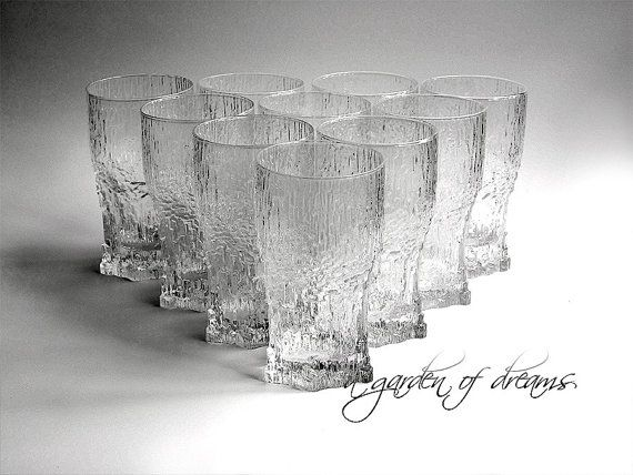 Iittala Aslak highball glass elegant glassware by agardenofdreams