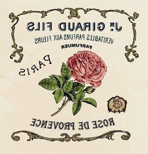 rosa paris giraud fils espejo servilleta